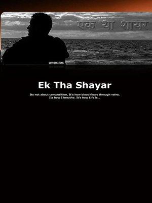 cover image of Ek Tha Shayar