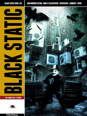 cover image of Black Static #29 Horror Magazine