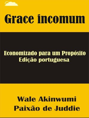 cover image of Grace incomum