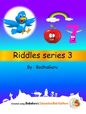 cover image of Riddles Series 3