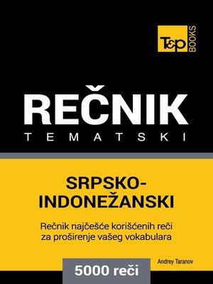 cover image of Srpsko-Indonežanski tematski rečnik