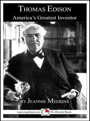 cover image of Thomas Edison