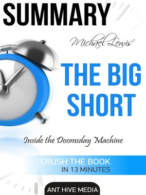 cover image of Michael Lewis' the Big Short