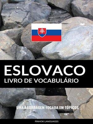 cover image of Livro de Vocabulário Eslovaco