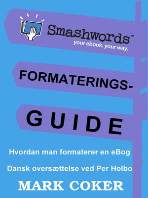 cover image of Smashwords Formateringsguide