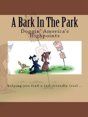 cover image of A Bark In the Park-Doggin'America's Highpoints
