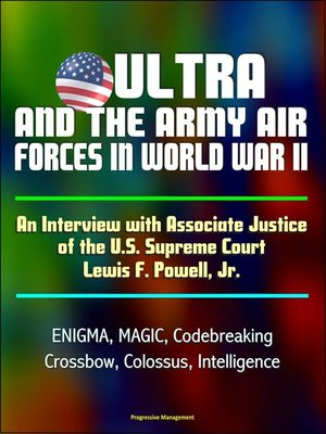 cover image of ULTRA and the Army Air Forces in World War II