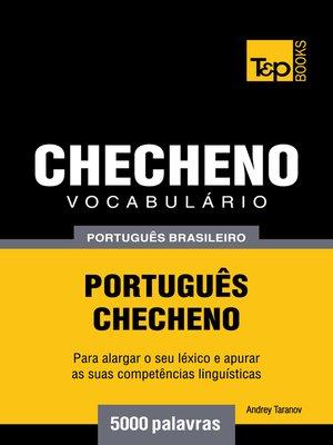 cover image of Vocabulário Português Brasileiro-Checheno