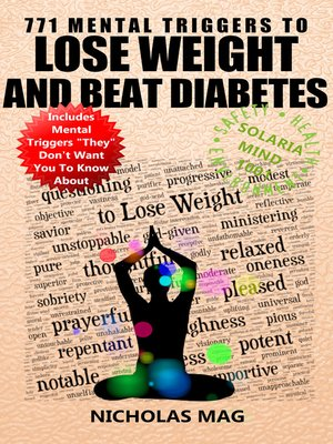 cover image of 771 Mental Triggers to Lose Weight and Beat Diabetes