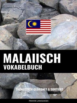 cover image of Malaiisch Vokabelbuch
