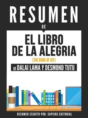 cover image of El Libro De La Alegría (The Book of Joy)--Resumen Del Libro De Dalai Lama Y Desmond Tutu