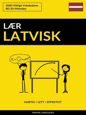 cover image of Lær Latvisk