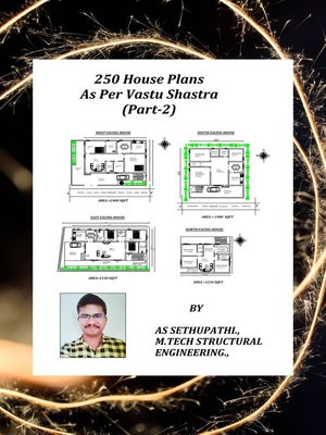 cover image of 250 House Plans As Per Vastu Shastra (Part-2)