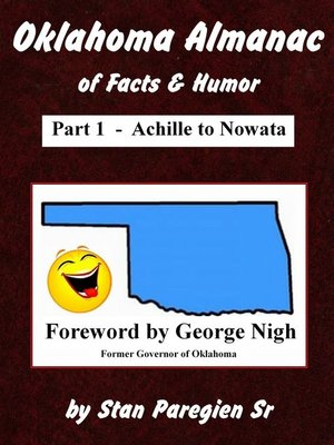 cover image of Oklahoma Almanac of Facts & Humor