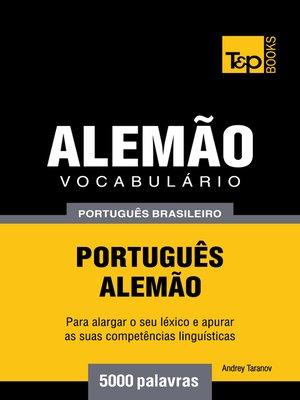 cover image of Vocabulário Português Brasileiro-Alemão