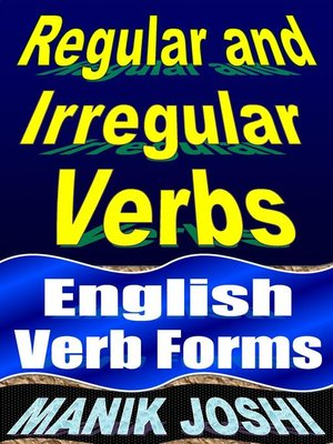 cover image of Regular and Irregular Verbs