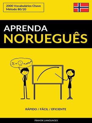 cover image of Aprenda Norueguês