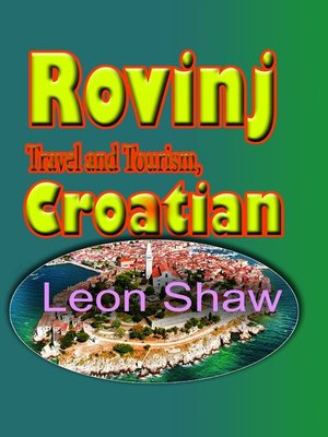 cover image of Rovinj Travel and Tourism, Croatian