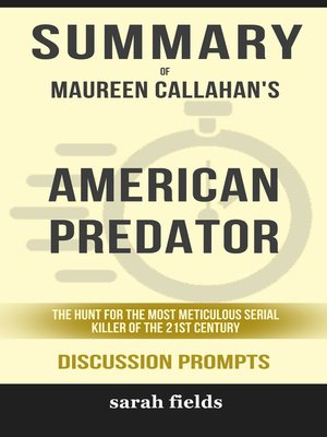 cover image of Summary of American Predator