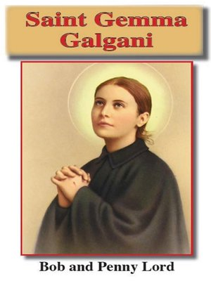 cover image of Saint Gemma Galgani