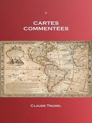 cover image of Cartes commentées