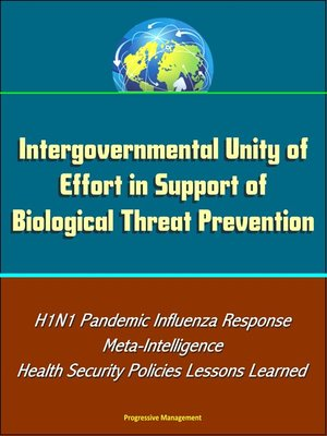 cover image of Intergovernmental Unity of Effort in Support of Biological Threat Prevention