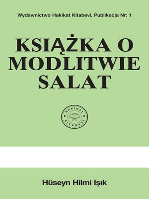 cover image of Książka O Modlitwie Salat
