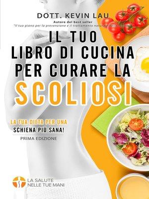 cover image of Libro de recetas para tratar la escoliosis