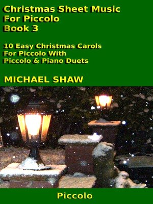 cover image of Christmas Sheet Music For Piccolo