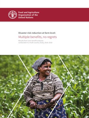 cover image of Disaster Risk Reduction at Farm Level