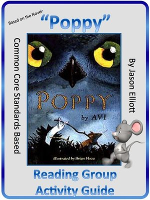 cover image of Poppy by Avi Reading Group Activity Guide