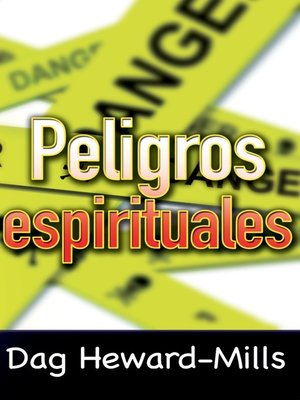 cover image of Peligros espirituales