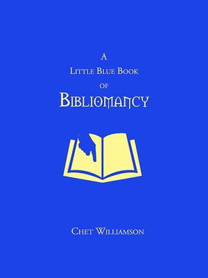 cover image of A Little Blue Book of Bilbiomancy