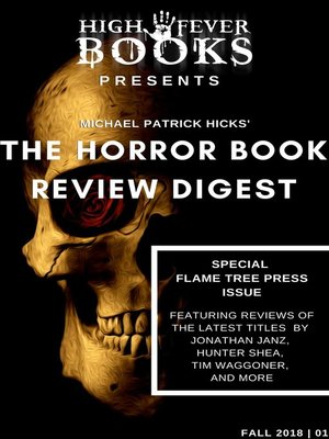 cover image of The Horror Book Review Digest