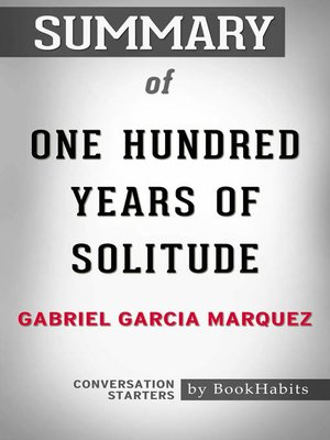 cover image of Summary of One Hundred Years of Solitude