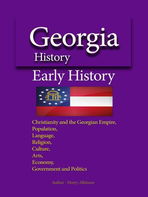 cover image of Georgia History, Early History