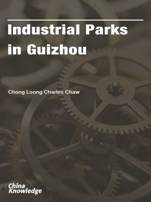 cover image of Industrial Parks in Guizhou