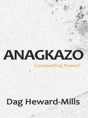 cover image of Anagkazo