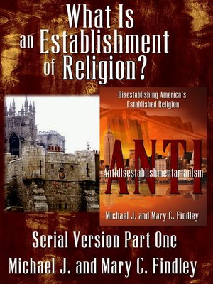 cover image of What Is an Establishment of Religion?