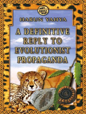 cover image of A Definitive Reply to Evolutionist Propaganda