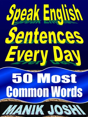 cover image of Speak English Sentences Everyday