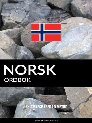 cover image of Norsk ordbok