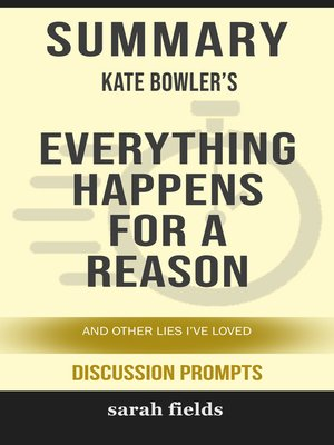 cover image of Summary of Everything Happens for a Reason