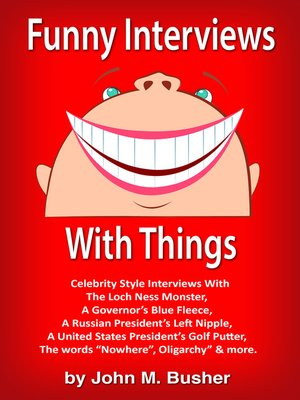 cover image of Funny Interviews With Things
