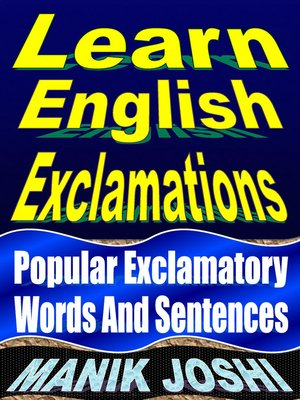 cover image of Learn English Exclamations