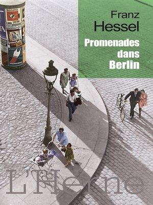 cover image of Promenades dans Berlin