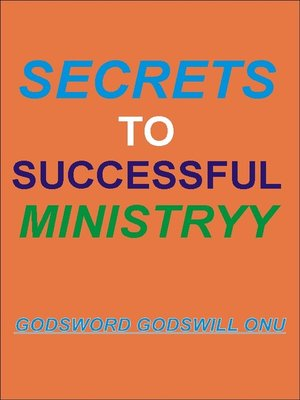 cover image of Secrets to Successful Ministry