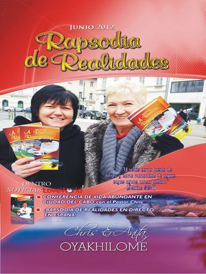 cover image of Rhapsody of Realities June 2012 Spanish Edition