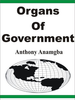 cover image of Organs of Government