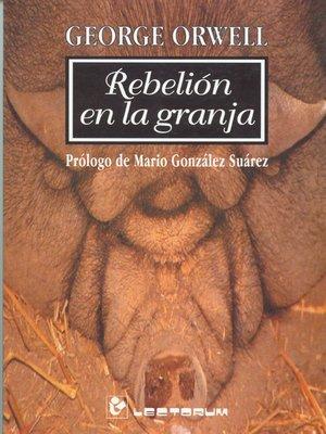 cover image of Rebelion en la granja
